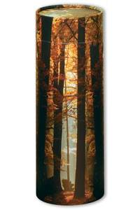 Autumn ashes scatter tube