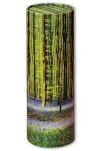 Bluebell ashes scatter tube