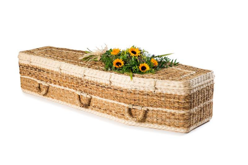 Banana Traditional Coffin
